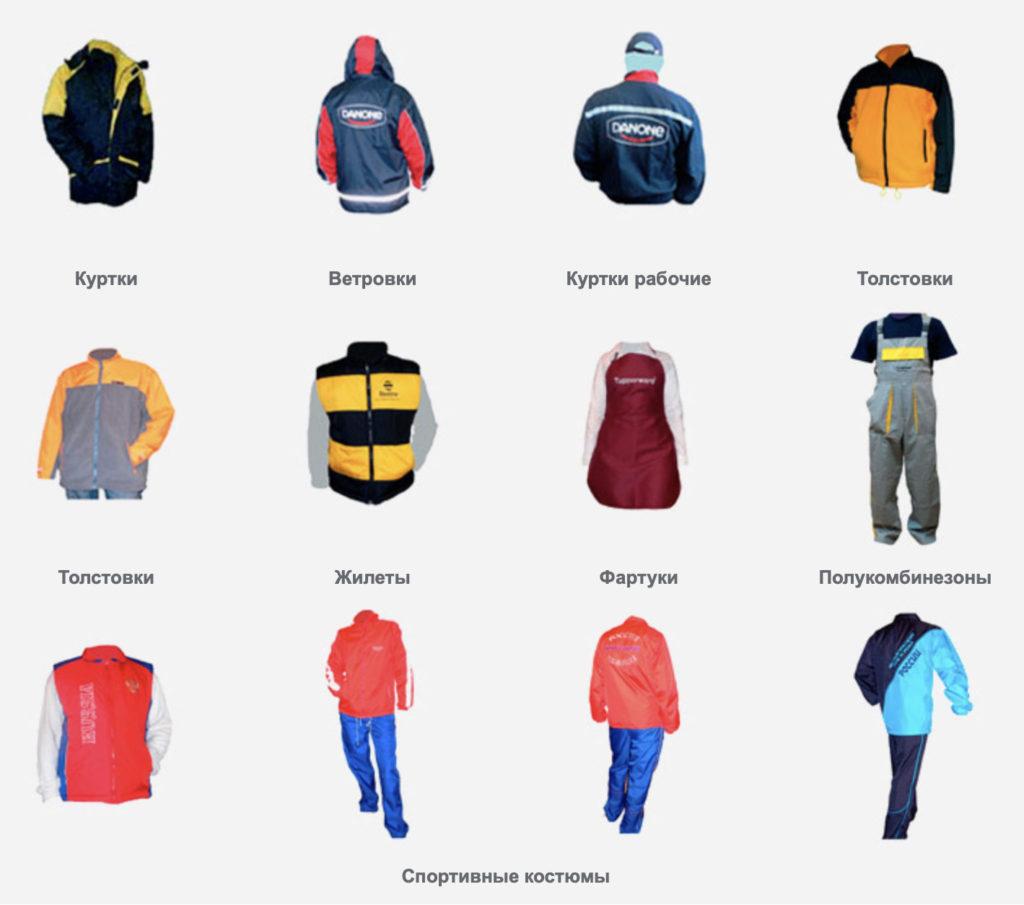 Пошив одежды - Выбор Подарков